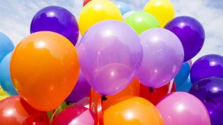 【Twitter】誕生日の風船を表示させる方法(数を増やす・風船がでない・風船を割る、についても)